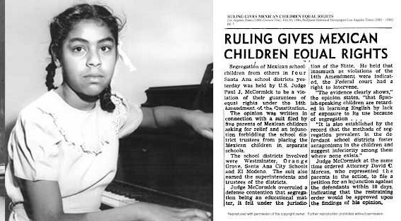 Newspaper clipping from the Mendez case